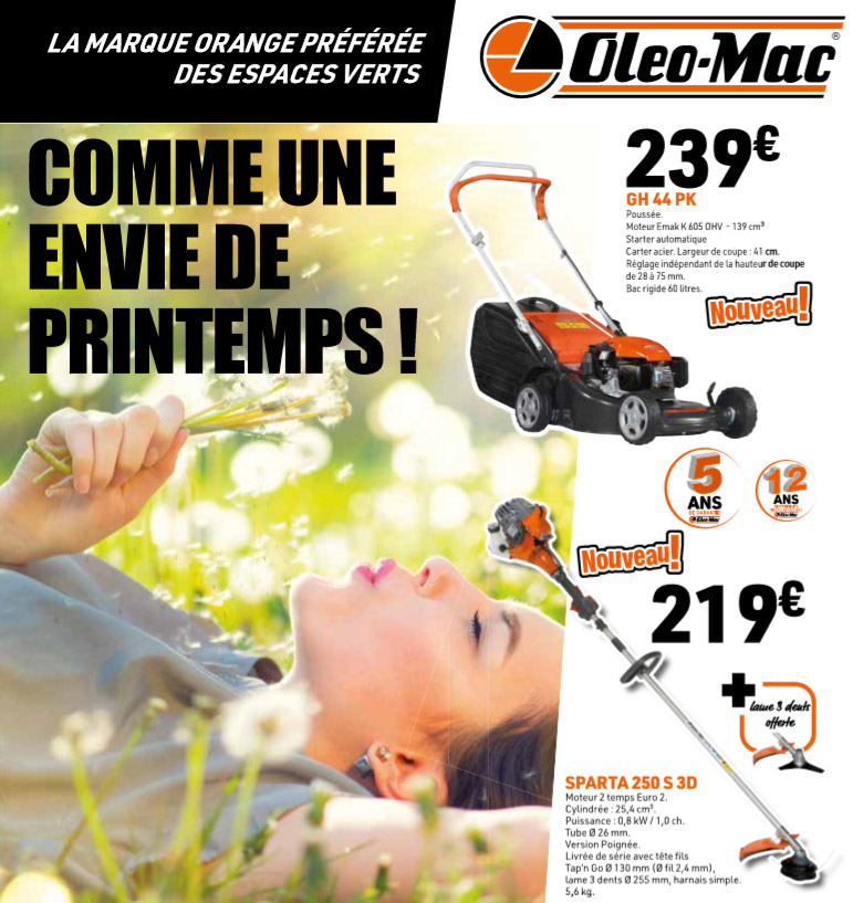 Visuel promotions Printemps 2020